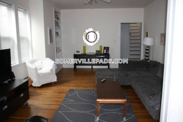 Spacious and Sunny with great charm!  - Somerville - East Somerville $3,200